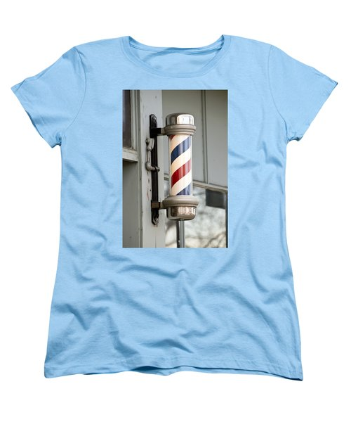 The Barber Shop 4 Women's T-Shirt (Standard Cut) by Angelina Vick