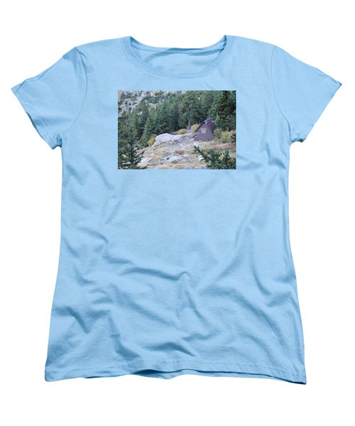 The Barr Trail A Frame Women's T-Shirt (Standard Cut) by Christin Brodie