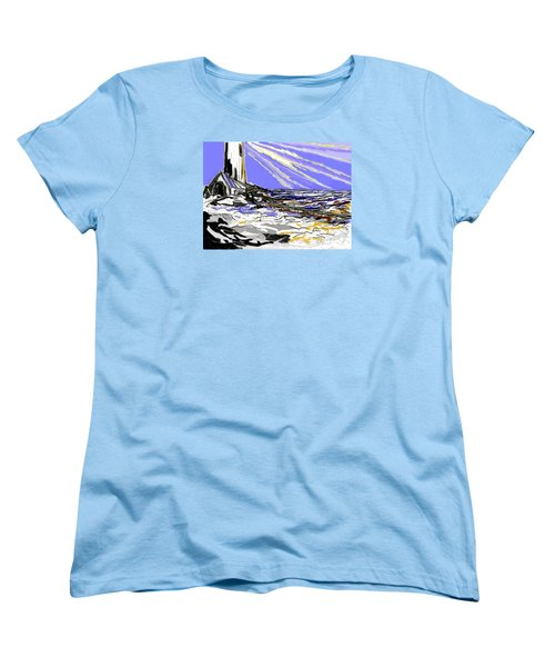 The Beacon Women's T-Shirt (Standard Cut) by Desline Vitto