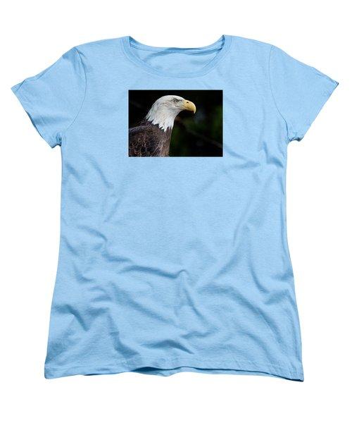 The Beak Pointeth Women's T-Shirt (Standard Cut) by Greg Nyquist