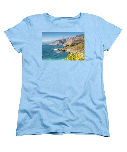 The Beauty Of Big Sur Women's T-Shirt (Standard Cut) by JR Photography
