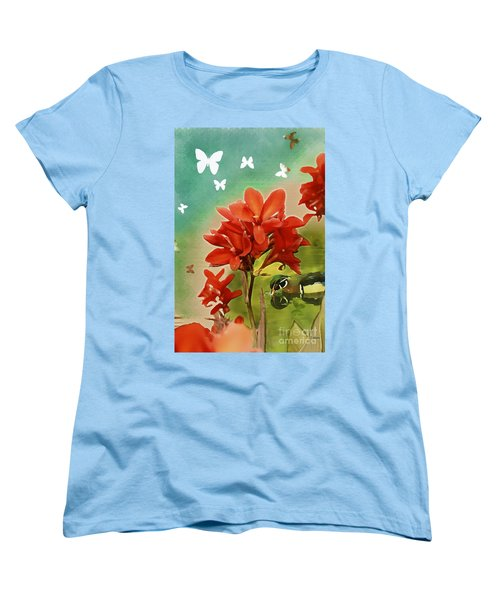 The Beauty Of Nature Women's T-Shirt (Standard Cut) by Claudia Ellis