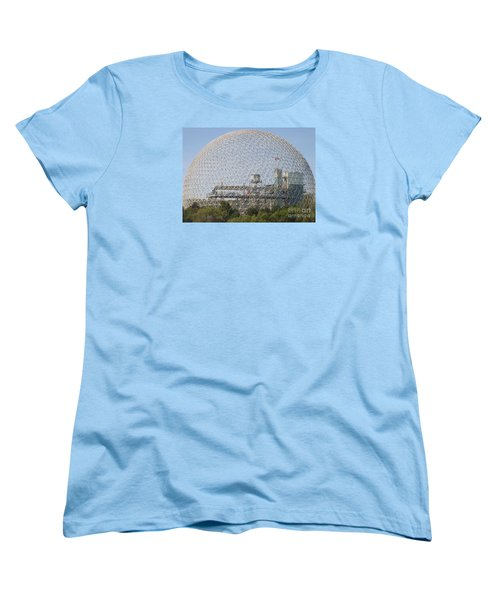 The Biosphere  Ile Sainte-helene Montreal Quebec Women's T-Shirt (Standard Cut) by Reb Frost