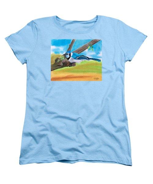 The Blue Jay  Women's T-Shirt (Standard Cut)