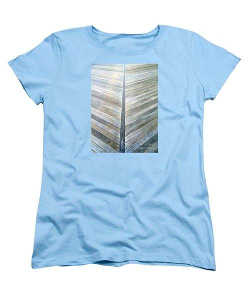 The Boardwalk Women's T-Shirt (Standard Cut) by Ed Weidman