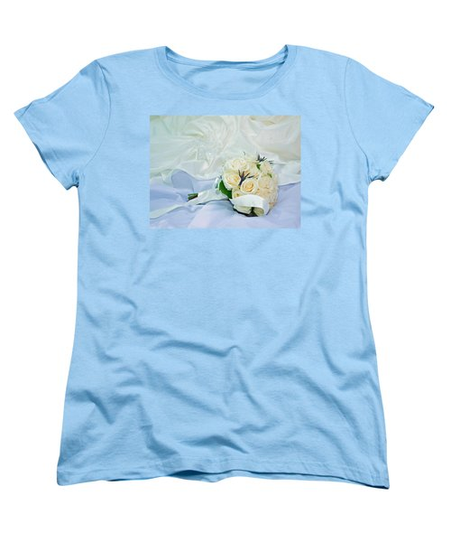 The Bouquet Women's T-Shirt (Standard Cut) by Keith Armstrong
