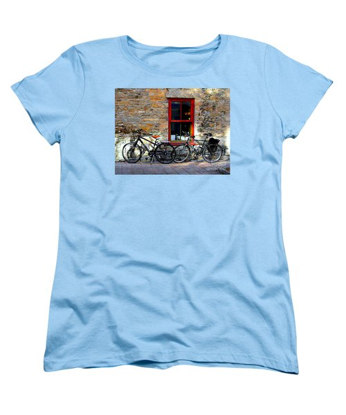 Women's T-Shirt (Standard Cut) featuring the photograph The Break by Elfriede Fulda