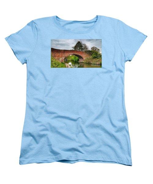 The Bridge Women's T-Shirt (Standard Cut) by Isabella F Abbie Shores FRSA