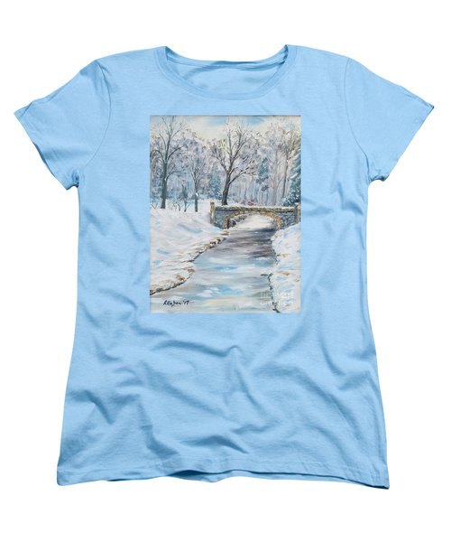 The Bridge Women's T-Shirt (Standard Cut) by Stanton Allaben