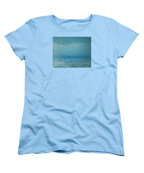 The Calm Before The Storm Women's T-Shirt (Standard Cut) by Jane See