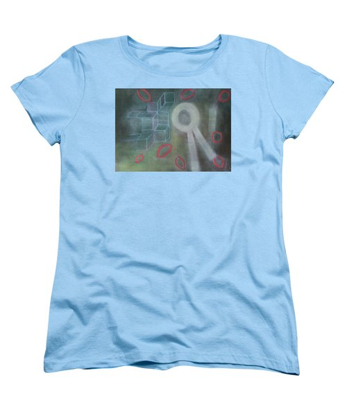 The Childish In One's Heart Women's T-Shirt (Standard Cut) by Min Zou