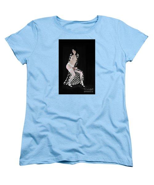 The Cloak Women's T-Shirt (Standard Cut) by Robert WK Clark