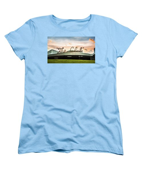 Women's T-Shirt (Standard Cut) featuring the photograph The Club Panorama by Parker Cunningham