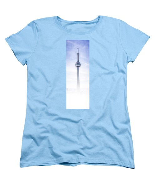 The Cn Tower Women's T-Shirt (Standard Cut) by Anthony Rego