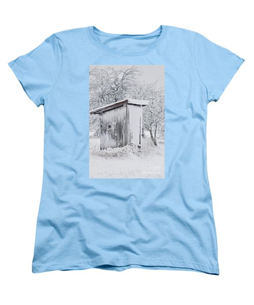 The Coldest Fifty Yard Dash Women's T-Shirt (Standard Cut) by Benanne Stiens