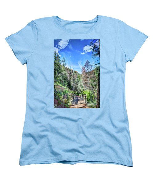 Women's T-Shirt (Standard Cut) featuring the photograph The Connection by Deborah Klubertanz