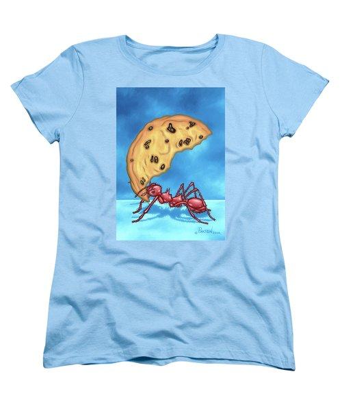 The Cookie Cutter Ant Women's T-Shirt (Standard Cut)
