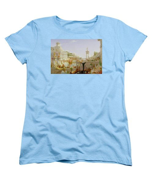 The Course Of Empire - The Consummation Of The Empire Women's T-Shirt (Standard Fit)