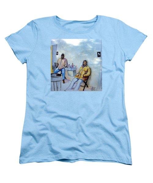 The Custodians Women's T-Shirt (Standard Cut) by Albert Puskaric