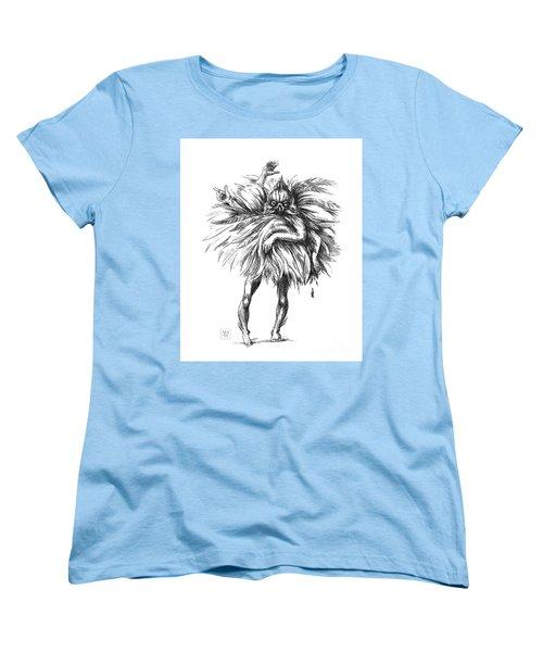 The Dance Macabre Women's T-Shirt (Standard Cut) by Yvonne Wright