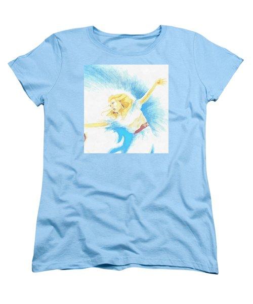 The Dancer Women's T-Shirt (Standard Cut) by Mario Carini