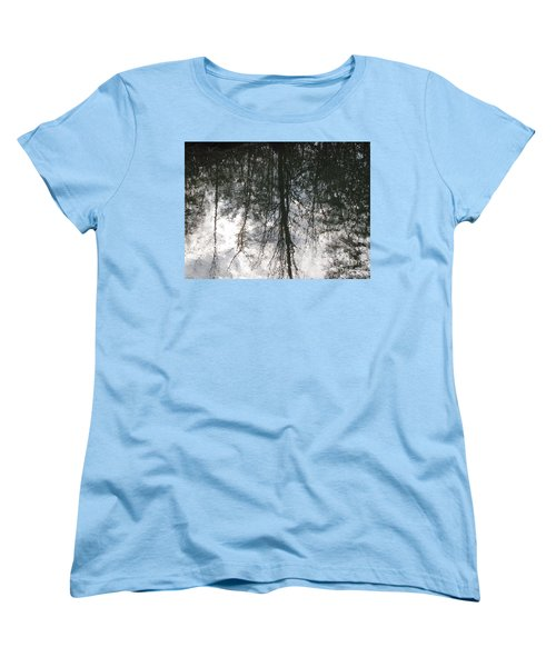 The Devic Pool 1 Women's T-Shirt (Standard Cut) by Melissa Stoudt