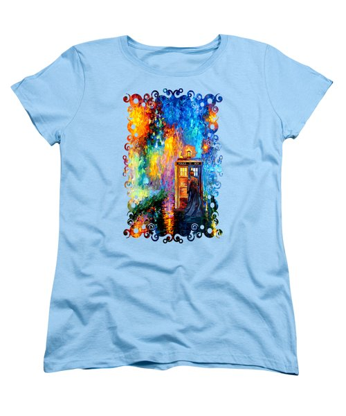 The Doctor Lost In Strange Town Women's T-Shirt (Standard Cut) by Three Second