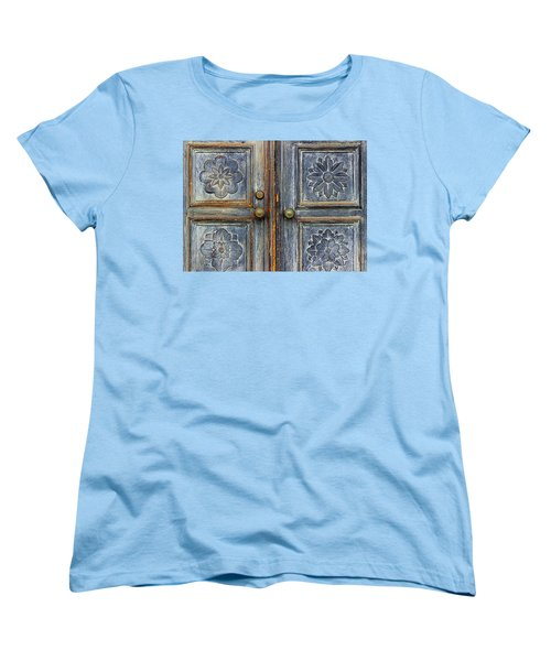 The Door Women's T-Shirt (Standard Cut) by Ranjini Kandasamy
