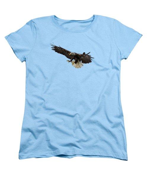 The Eagle Women's T-Shirt (Standard Cut) by Scott Carruthers
