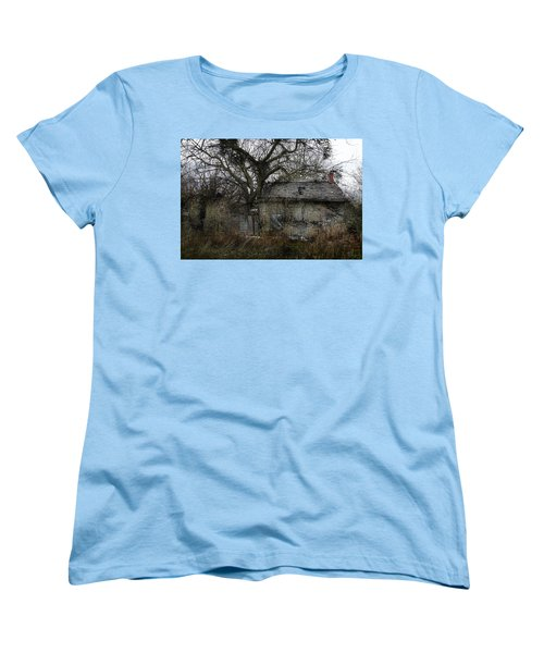 Women's T-Shirt (Standard Cut) featuring the photograph The Earth Reclaims by Jim Vance