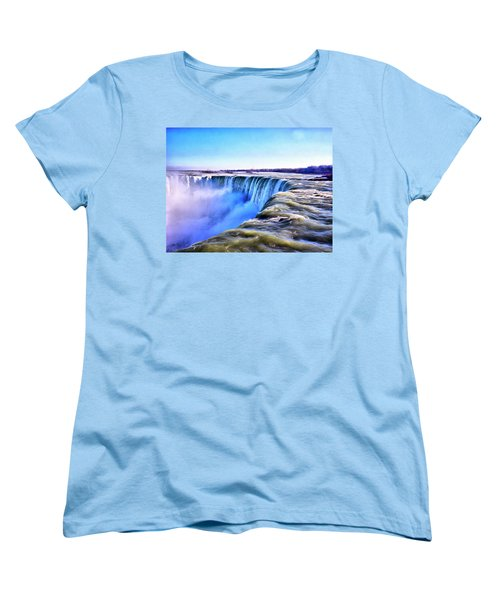 The Edge Of The World Women's T-Shirt (Standard Cut)