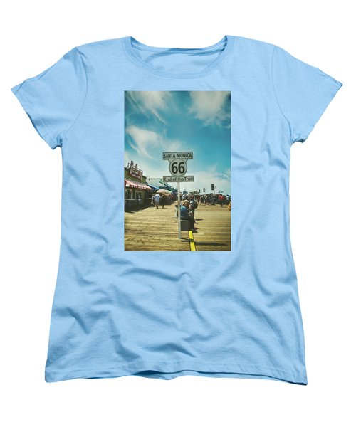 The End Of Sixty-six Women's T-Shirt (Standard Cut) by Laurie Search