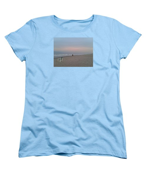 The End Of The Day Women's T-Shirt (Standard Cut) by Veronica Rickard