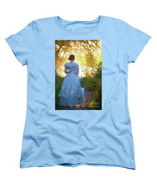 The Evening Walk Women's T-Shirt (Standard Cut) by Lee Avison