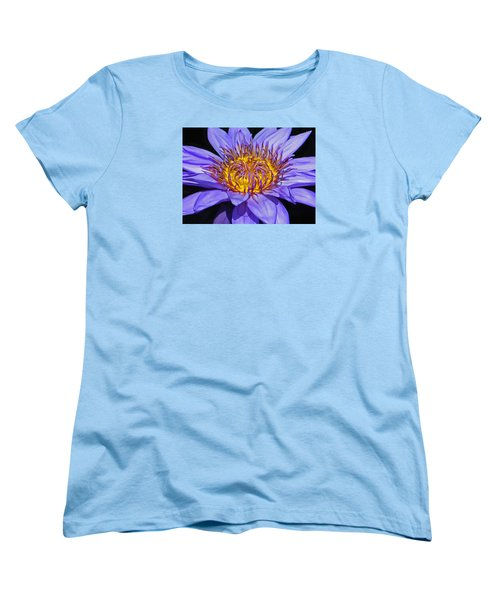 The Eye Of The Water Lily Women's T-Shirt (Standard Cut) by Emmy Marie Vickers