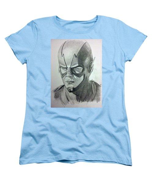 The Flash Women's T-Shirt (Standard Cut) by Michael McKenzie