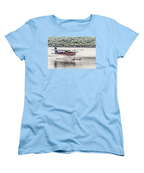 The Float Women's T-Shirt (Standard Cut) by William Norton
