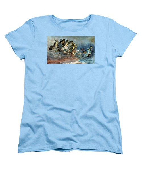 The Gathering Women's T-Shirt (Standard Cut) by Kathy Russell