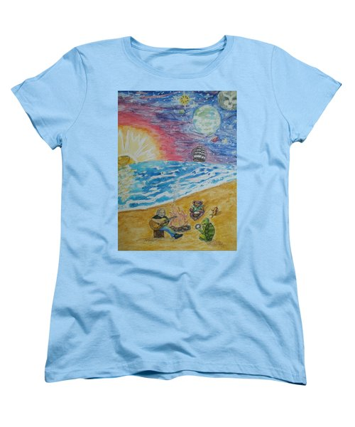 The Gathering Women's T-Shirt (Standard Cut) by Thomasina Durkay