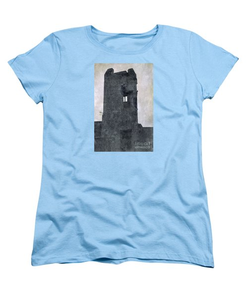 The Ghostly Tower Women's T-Shirt (Standard Cut) by Linsey Williams