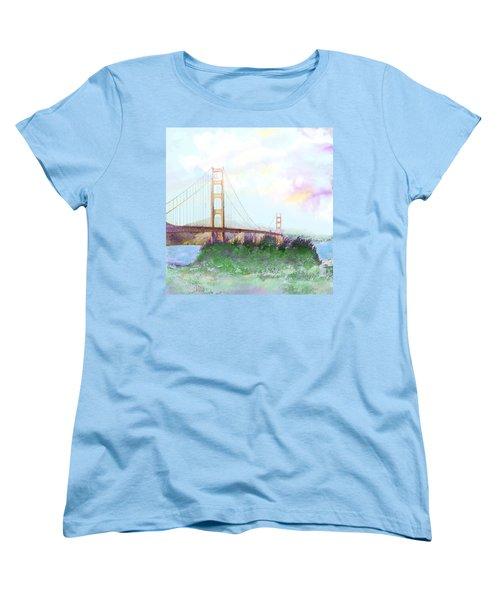 The Golden Gate Women's T-Shirt (Standard Cut)