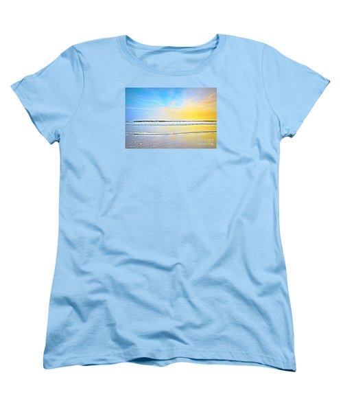 The Golden Hour Women's T-Shirt (Standard Cut) by Shelia Kempf
