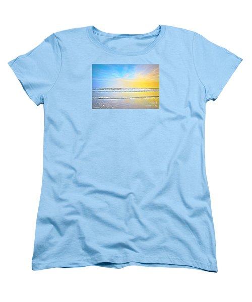 Women's T-Shirt (Standard Cut) featuring the photograph The Golden Hour by Shelia Kempf