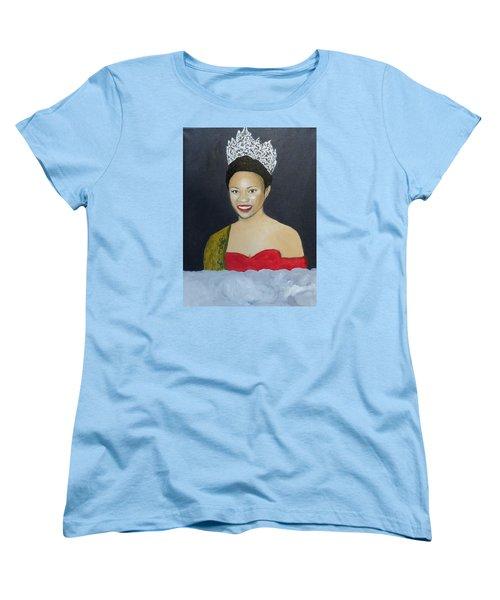 The Golden Queen  Women's T-Shirt (Standard Cut) by Angelo Thomas