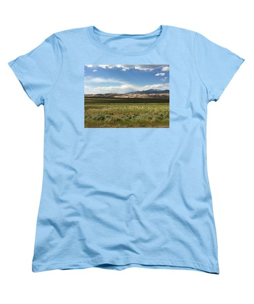 The Great Sand Dunes Women's T-Shirt (Standard Cut) by Christin Brodie