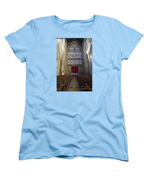 The Great West Window Women's T-Shirt (Standard Cut) by David  Hollingworth