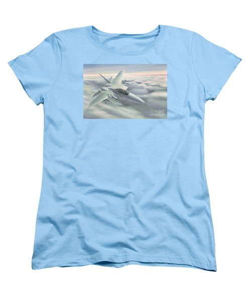 The Grey Ghost Women's T-Shirt (Standard Cut) by Michael Swanson