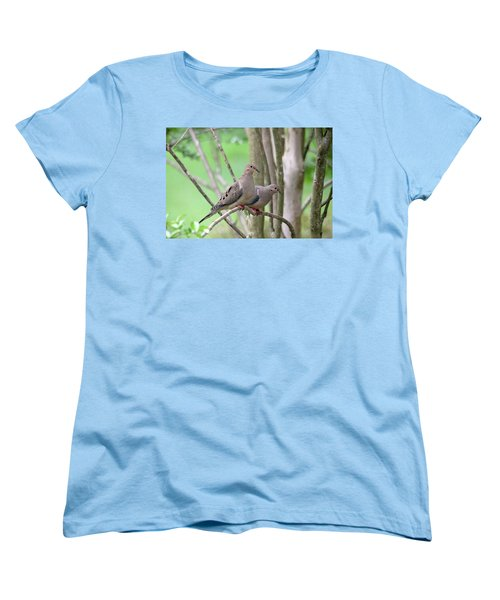 The Happy Couple Women's T-Shirt (Standard Cut) by Trina Ansel