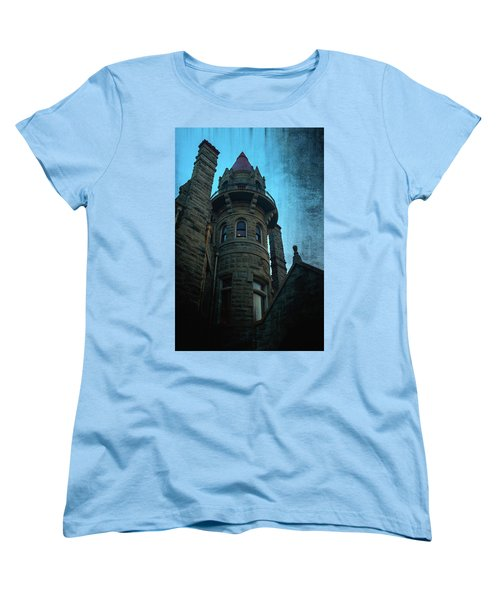 The Haunted Tower Women's T-Shirt (Standard Cut) by Keith Boone