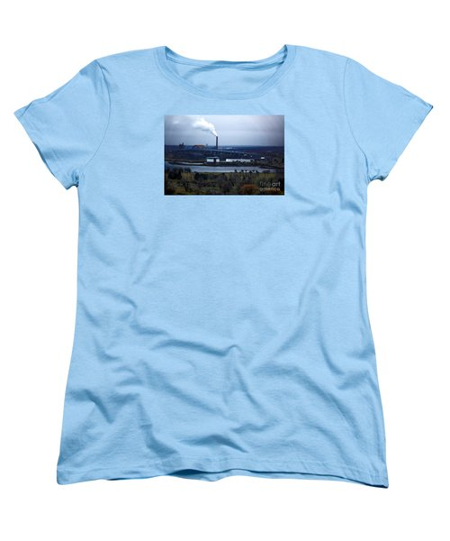 Women's T-Shirt (Standard Cut) featuring the digital art The Hoan by David Blank
